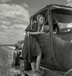 Dorthea Lange photo, Brazos Valley, Great Depression.
