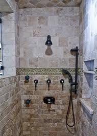 tile shower - nice ledge on niche