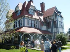 Cape May, NJ to see all the Victorian homes
