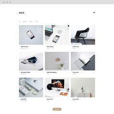 Alio - Minimal Portfolio WordPress Theme