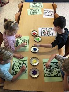 Art Lessons Elementary, Keith Haring, Kandinsky, Museum, Teaching, School, D Day, Artist, Anchor Art