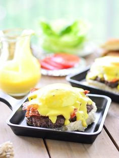 Eggs Benedict Burger   Community Post: 17 Mind-Blowing Ways To Eat Poached Eggs