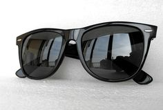 early vintage classic ray-ban wayfarer ii b&l made in u.s.a. sunglasses 80's from $179.13