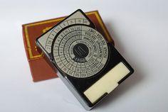 vintage light meter, soviet union