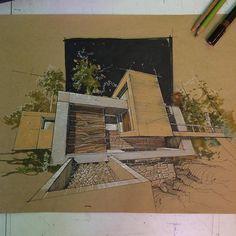 """#architecturestudent  #architect #archdaily #architectural #architecturesketch #architectlover #arquitetura #arquitectura #architekture…"""