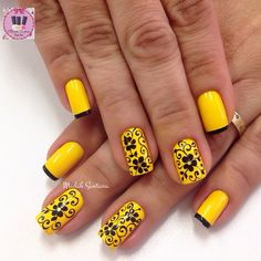 Grey Gel Nails, Matte Nails, Acrylic Nails, Yellow Nails Design, Sunflower Nails, Cute Toes, Crazy Colour, Rhinestone Nails, Crochet Hair Styles