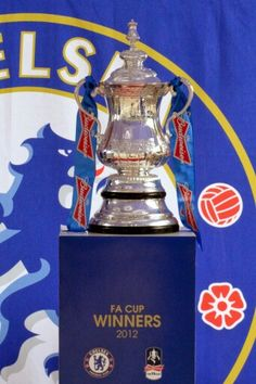 Football Association Challenge Cup.  2012 Champions Chelsea Football Club.