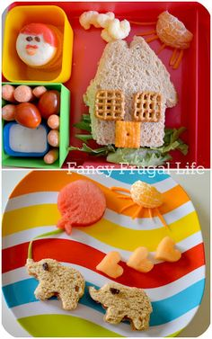 Fancy Frugal Life: 2 cute kid lunch ideas