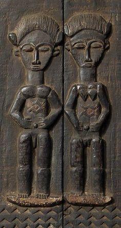 Africa   Carved wooden Baule Door, Ivory Coast    © Tim Hamill