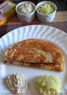 Davanagere Benne Dosa(DBD) from Karnataka!!!...Family Food Friday