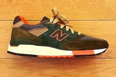 #NewBalance 998 J.Crew Fall 2014 #sneakers