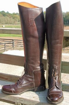 side2 Tall Leather Boots, Riding Boots, Shoes, Fashion, Boots, Moda, Shoes Outlet, Fashion Styles, Shoe
