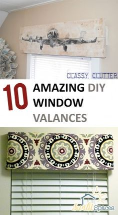 DIY Window Valances, DIY Home Decor, DIY Curtain Projects, Easy Curtain Projects, Simple Curtain Projects, Window Valances, Popular Pin, Homemade Curtains, Handmade Window Valances
