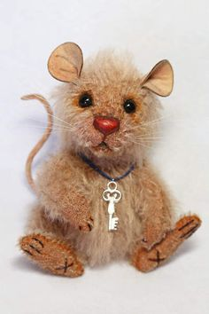 Scruffy the Little Mouse by Wayneston Bears