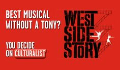 #WestSideStory or #Gypsy top your list of best #Broadway musicals without a #TonyAward? http://10li.st/1harEAk