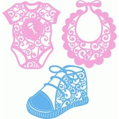 Silhouette Design Store: baby flourish clothes