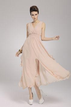 8.4$  Buy here  - 2013 New Beach Bohemian Women's Dress Chiffon V Neck Long Maxi Dress Ball Evening Party Skin