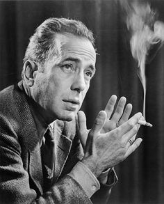 "1957- The Hollywood icon Humphrey Bogart was America's leading man for decades. He stole hearts in classic movies like The Maltese Falcon and Casablanca. Surprising then, is that Bogart, at the time of his death, weighed a mere 80 pounds. Though suffering from cancer of the esophagus, he still joked as he fell into a coma:    ""I should never have switched from Scotch to Martinis."""