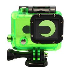 Green+Waterproof+Dive+Housing+Case+Skeleton+W/+Lens+For+Gopro+Hero+3+3++4+Camera+db