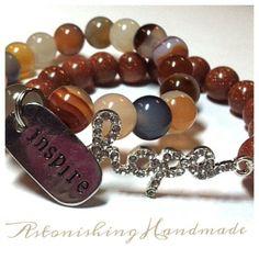 Handmade Jewelry by Astonishing Handmade www.astonishinghandmade.com