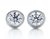 Elsa Peretti Diamonds By The Yard Earrings. GORG!