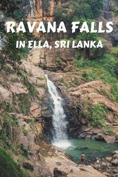 Sri Lanka Travel - Ella Waterfall