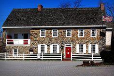 Dobbin House--Civil War Hospital and Underground Railroad Stop--Gettysburg, Pa.