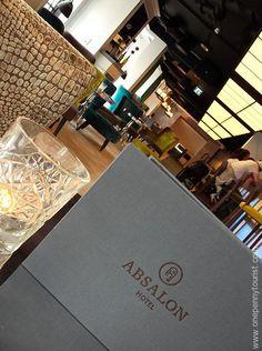 Absalon Hotel in Copenhagen - Bar. OnePennyTourist.com