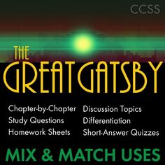 an analysis of the themes in fscott fitzgeralds the great gatsby Get free homework help on f scott fitzgerald's the great gatsby: book summary, chapter summary and analysis, quotes, essays, and character analysis courtesy of cliffsnotes.