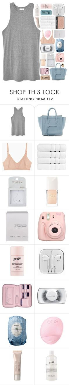 """""""fvck on more models;"""" by annamari-a ❤ liked on Polyvore featuring LACAUSA, Base Range, Christy, Topshop, Christian Dior, Ex Voto Paris, philosophy, Lili Radu, MAC Cosmetics and Fresh"""