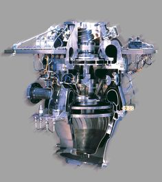 Arian 5 rocket engine LOx Turbopump: the hart of the rocket. It can be seem: two…