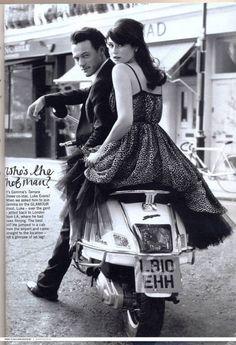 Les jolies choses ... | Gemma Arterton and Luke Evans by Robert Erdmann...