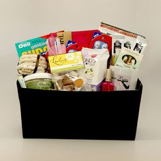 Bedrest Care Package- deluxe... Someone should make me this!