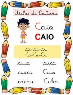 Portuguese Lessons, English Words, Professor, Kids Toys, 3 D, Homeschool, Lily, Education, Comics