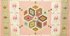 Brigitte Giblin Quilts and patchwork patterns for hand quilting and machine quilts using applique and paper piecing