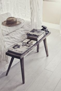 Sweet end table for a bed, especially if your bed is aligned with the door. Feng shui tips to help bedroom challenges here: http://fengshui.about.com/od/fengshuiforhome/qt/feng_shui_bed.htm