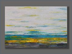 Large Abstract  Acrylic Seascape Painting Original Artworks Gifts for Him Home & Living Landscape Painting Art Painting Modern Painting