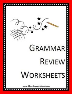 pay teachers grammar review worksheets grammar review worksheets ...