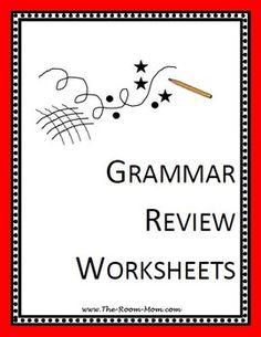 pay teachers grammar review worksheets grammar review worksheets ...
