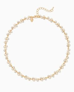 charming charlie | Pearl Party Necklace | UPC: 400000246840 #charmingcharlie