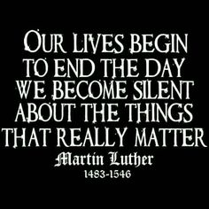 christian quotes | Martin Luther quotes | zeal | evangelism | rebuke | truth
