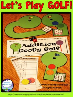 This is a REALLY FUN game for Adding 3-single digit numbers!! Cute greens and tally mark scoring for 1st and 2nd graders.