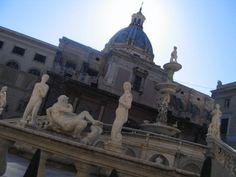 sculptures in Palermo