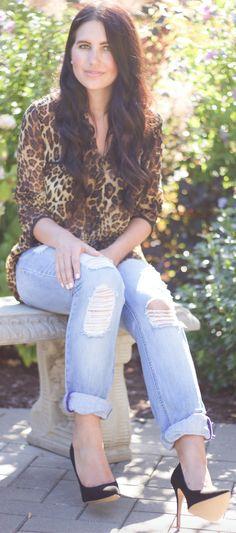 how to wear cheetah print