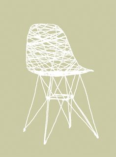 illustration eames by monica hellstrom