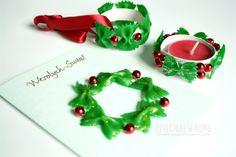 świąteczne ozdoby z makaronu dla dzieci