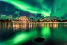 Northern Lights, Norway Log on to www.destinationtravels.in