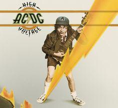 ac dc album covers | ... -> Actual Album Cover Parodies -> High Voltage Album Cover Parodies