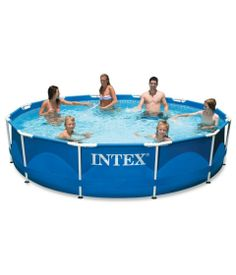 Intex 12 x 30 Metal Frame Pool - Read our detailed Product Review by clicking the Link below