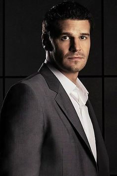 David Boreanaz as Seeley Booth. Oh my goodness I love him!